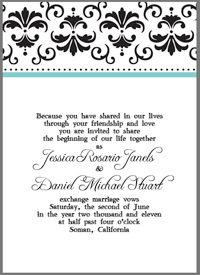 Gorgeous & Classy DIY Templates for Invitations and Announcements