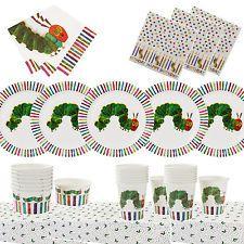 4.2 GBP - The Very Hungry Caterpillar Fabric - Caterpillars - White ...
