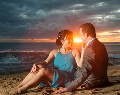 Sunset beach photography. www.rinconimages.com Wedding photographer Puerto Rico #wedding #photography #photographer #PuertoRico #elopement #rincon