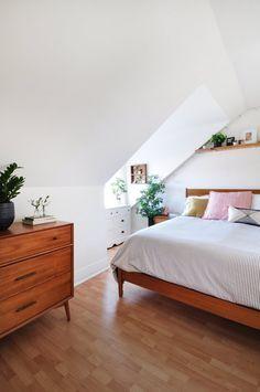 Blanc - bois naturel - plantes - lumière - quelques touches de couleur