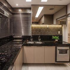 Estilo Interior, Decoration, My House, Blinds, Kitchen Cabinets, Curtains, 303, Home Decor, New Kitchen