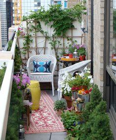great green balcony