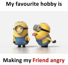if you want laugh and make some smile on your face.We advise that you just read these Minions Memes men.These if you want laugh and make some smile on your face.We advise that just read these Minions Memes men. Funny Minion Pictures, Funny Minion Memes, Funny School Jokes, Some Funny Jokes, Funny Facts, Funny College, Best Friend Quotes Funny, Besties Quotes, Cute Funny Quotes