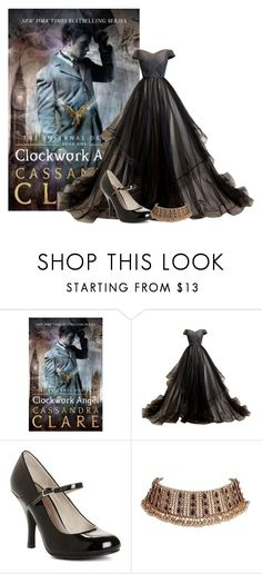 """""""Clockwork Angel - Cassandra Clare"""" by ninette-f ❤ liked on Polyvore featuring Chinese Laundry"""