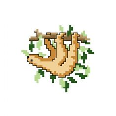 FREE - Sloth Cross Stitch Pattern