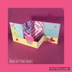 """Inspired by """"kleine göhre design""""; #popupcard; #popupkarte #greetingcard; #Grußkarte; #papier; #papel; #carta; #paper; #Gutscheinkarte; #cameo; #giftcardholder;  #doublezfoldcard; #3DCard; #3DKarte; #birthdaycard;#geburtstagskarte;#mädchenkarte;"""
