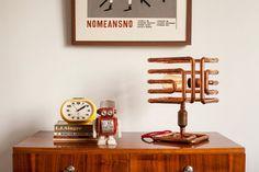 Lampe de Table en cuivre d'ARBO