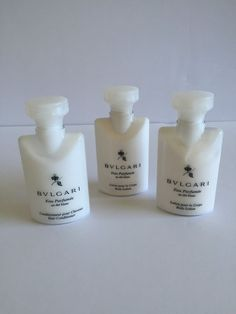 Bvlgari Travel Size Lotion Hair Conditioner Set Of 3 Eau Parfumee Never Used #Bulgari