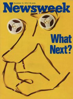 Newsweek magazine, Nov. 12, 1973 — Richard Nixon & the Watergate Tapes