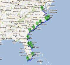 Unsere Campertour USA Ostküste Florida bis Richmond