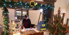 Na plzeňské radnici už úřaduje vánoční pošťák