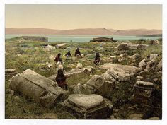 Other places were in ruins, like Capernaum, a fishing village that was home to several Apostles.