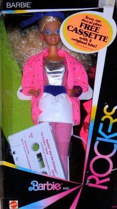 Barbie et les Rock Stars (MATTEL) 1986 - 1987