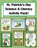 Great St. Patrick's Day Science & Literacy Pack