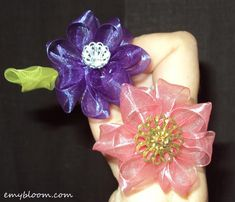 DIY Tutorial: Diy Kanzashi Flower / Diy Ribbon Flowers Tutorial