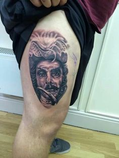 my tattoo work on Pinterest | Joker Tattoos, Pirate Ship ...