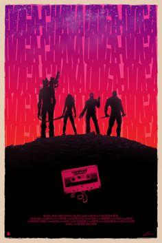 Top 15 des superbes posters d'illustrateurs du film « Les Gardiens de la Galaxie », quand les versions officieuses surpassent la version Officielle.