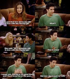"""""""she's just my wife..."""" - Ross, f.r.i.e.n.d.s"""