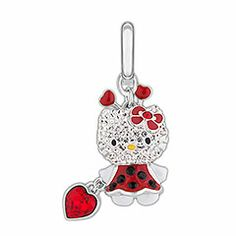 Hello Kitty Lady Bug 3D Charm