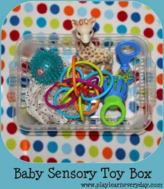 Play and Learn Everyday: Baby Sensory Toy Box