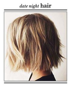A Romantic Style for Short Hair