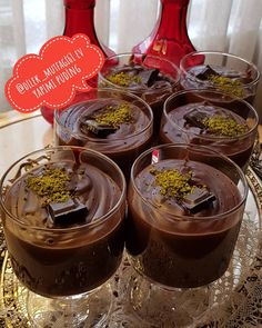 Chocolate Fondue, Muffin, Food And Drink, Pudding, Sweets, Eat, Desserts, Origami, Instagram