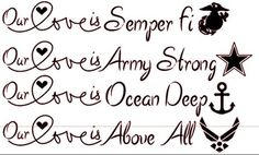 """""""Our love is..."""" - MilitaryAvenue.com"""