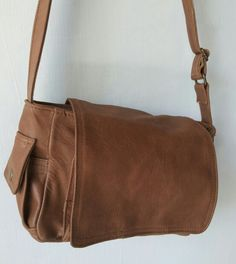 Bagera leather mini postman bag