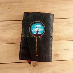 Dark Tower leather book cover / Gifts for book lovers /