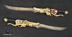 Steampunk Gun-sword.