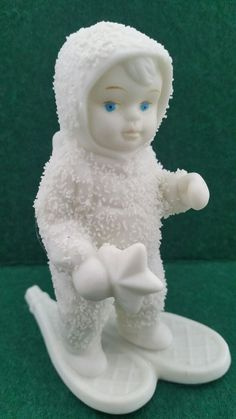 Department 56 Snowbabies Winter Tales A Special Delivery Retired 7948-0 Snowshoe