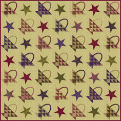 Collection For a Cause:  Texas Quilt Museum Based on 1892 quilt from Karey Bresenham.  @modafabrics