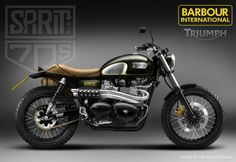 Triumph by Spirit of the 70s #motorcyclesdesign #diseñodemotos | caferacerpasion.com