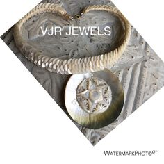 VJR JEWELS , mix and match from disgarded treasures , mother of pearl € 89,-
