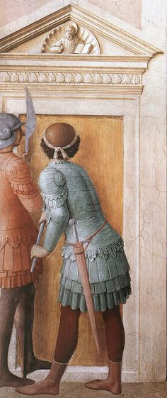 St Lawrence Receives the Treasures of the Church (detail) by ANGELICO, Fra #art