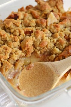 Apple Crumble Recipe Made with stevia. This easy recipe features @sweetleafstevia #ad