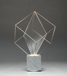 Claudio Salocchi, Tulpa Lamp for  Lumenform, 1971.