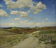 "American Impressionism | ... Contrasts of Dark and Light in {""MASTERWORKS OF AMERICAN ART""} Forum"