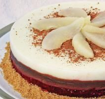 Gâteau 4 étages **Nouveau** Biscuits Graham, Panna Cotta, Cake Recipes, Ethnic Recipes, Desserts, Food, Food Cakes, Drinks, Canned Pears