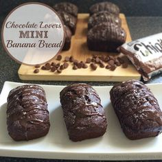 If you like banana bread and chocolate you have to try out my Chocolate Lovers Mini Banana Bread. It is out of this world delicious and so decadent.