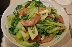 The Fit Daffy: Recipe: Stir-Fried Pork with Baby Bok Choy
