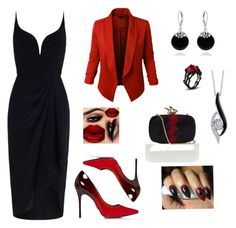 """""""Nightout!"""" by mireille-a ❤ liked on Polyvore featuring Zimmermann, Givenchy, Bling Jewelry, Sirena and blackdress"""