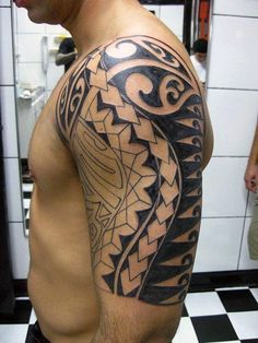 Tribal Tattoos And Meanings For Men