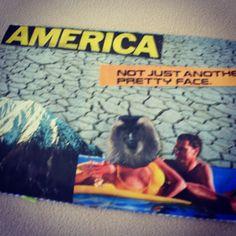 coachella post   america postcard collage made by jenn