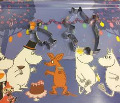 Moomin trays €25- Beautiful trays featuring beloved Moomin characters. Use for serving or as decoration.