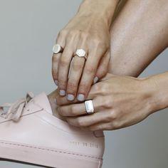 Gabriela Artigas Online Store - Women's Oval Signet Ring, $195.00 (http://www.gabrielaartigas.com/womens-oval-signet-ring/)