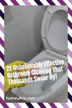 Maintaining a clean bathroom is an important routine that keeps the home smelling good and looking clean. Here are 21 bathroom cleaning hacks that will make cleaning your bathroom so much easier and with less sweat. Visit the blog post to see all 23 bathroom cleaning hacks to clean, disinfect and deodorize your bathroom. #homewhis #cleaninghacks #bathroomcleaning #cleaningtips #cleaning #cleanbathroom #smellhacks #bakingsodacleaning #cleaningschedule Fridge Organization, Home Organization Hacks, Organizing Your Home, Bathroom Organization, Baking Soda Cleaning, Bathroom Cleaning Hacks, House Smells, Smell Good, Deodorant