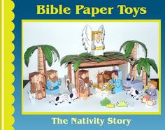My Little House Bible Paper Toys-Birth of Jesus
