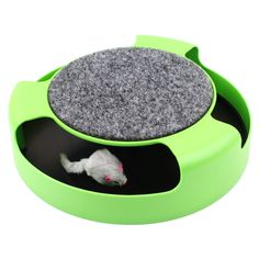 Cat Toy Pets Products Kitten Toys with Moving Mouse Inside Roped Funny Faux Mouse Play Toys gatos For Kids & Cat