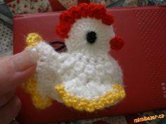 Vkládám podrobný návod na velikonoční slepičku, jeden už zde na MMB je, ale nejde z něj pořádně vyčí... Crochet Birds, Easter Crochet, Crochet Hats, Photo Tutorial, Baby Shower, Knitting, Creative, Crafts, Shower Ideas